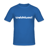 T-Shirts ~ Männer Slim Fit T-Shirt ~ Weldniwoo
