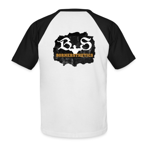 Bornersthetics Logo - Men's Baseball T-Shirt