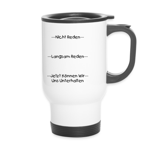 KAFFE TO GO  - Thermobecher
