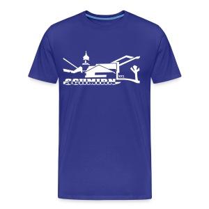 Schmirn Kirche - Männer Premium T-Shirt