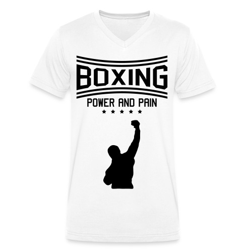 Boxing - Männer Bio-T-Shirt mit V-Ausschnitt von Stanley & Stella
