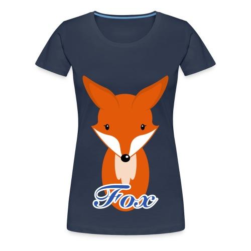 Fuchs Retro Style T-Shirts - Frauen Premium T-Shirt