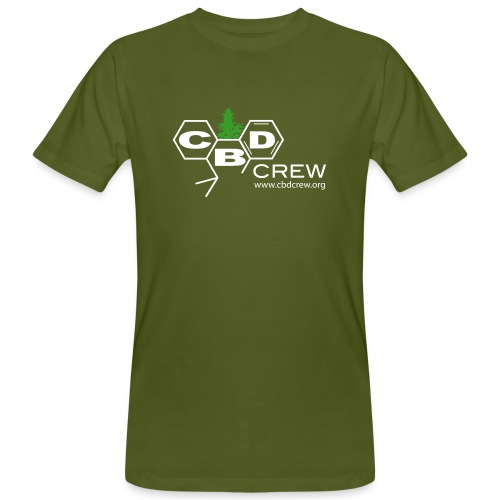 CBD Crew Organic Men's 2Color Logo T-Shirt - Men's Organic T-Shirt