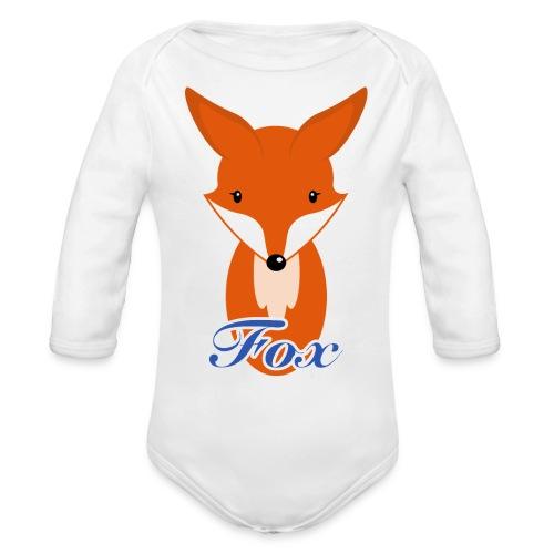 Fuchs Retro Style Pullover & Hoodies - Baby Bio-Langarm-Body