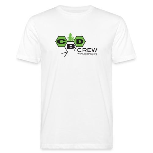 CBD Crew Organic Men's FullColor Logo T-Shirt - Men's Organic T-Shirt