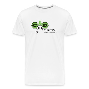 CBD Crew Men's FullColor Logo T-Shirt - Men's Premium T-Shirt