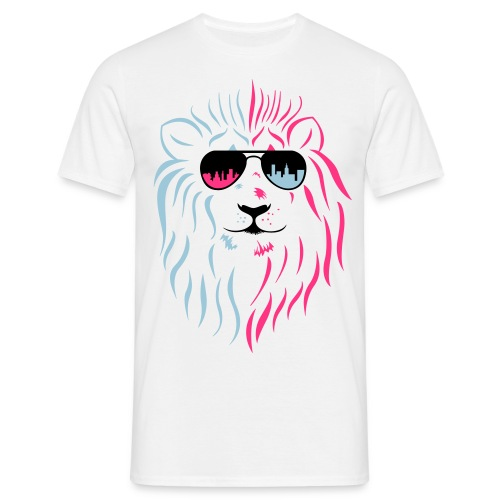 Stadtlöwe - Männer T-Shirt