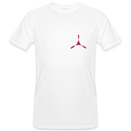 T-Shirts ~ Männer Bio-T-Shirt ~ yogasaram white essence no.10 bio