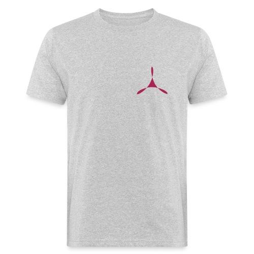 yogasaram grey essence no.11 bio - Männer Bio-T-Shirt