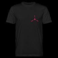 T-Shirts ~ Männer Bio-T-Shirt ~ yogasaram black essence no.9 bio