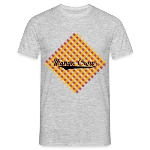Mango-Crew T-Shirt Karo - Männer T-Shirt