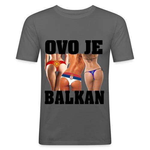 Mannen Slim Fit T-shirt - slim fit T-shirt