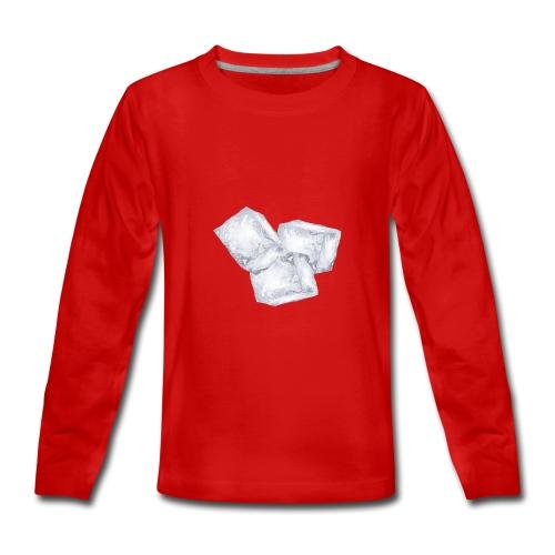 Trois glaçons - T-shirt manches longues Premium Ado