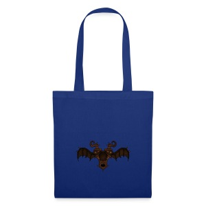 Masque d'alien ailé - Tote Bag