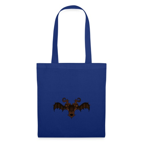 Masque d'alien ailé - Tote Bag