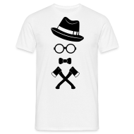 hipster_axt_gang_1f T-Shirts