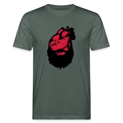 Bearded Heart - Ekologisk T-shirt herr