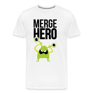 Monster Merge Hero 1 T-Shirts - Männer Premium T-Shirt