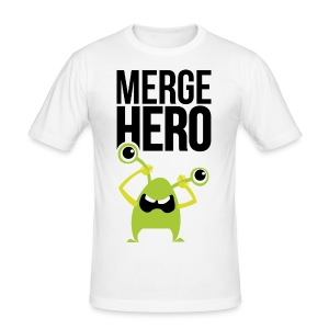 Monster Merge Hero 1 T-Shirts - Männer Slim Fit T-Shirt