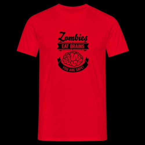 Zombie Brains - Men's T-Shirt
