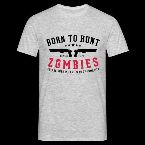 Zombie Hunter - Men's T-Shirt