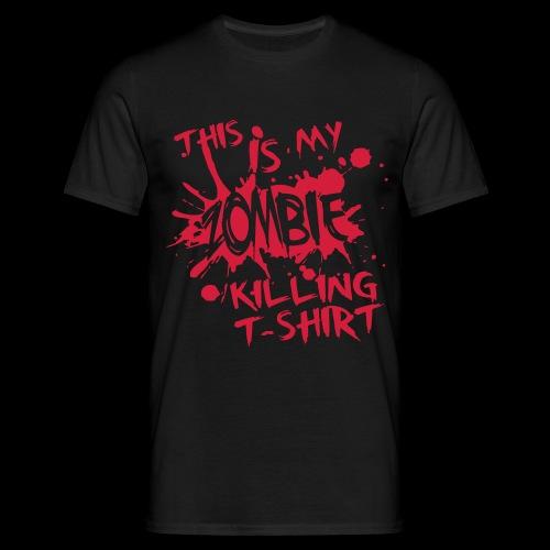 Zombie Killer - Men's T-Shirt