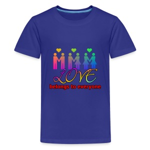 Love4everyone Shirts - Teenage Premium T-Shirt