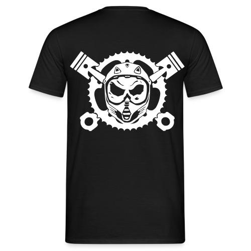 Motocrossskull shirt - Männer T-Shirt
