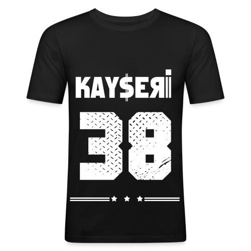 KAYSERI - 38 - Herren - Männer Slim Fit T-Shirt