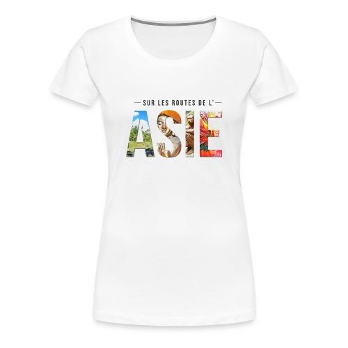 T-shirt Femme Blanc - T-shirt Premium Femme