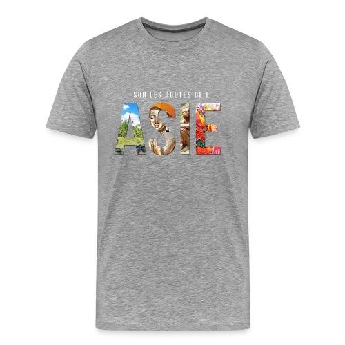 T-shirt Homme Gris - T-shirt Premium Homme