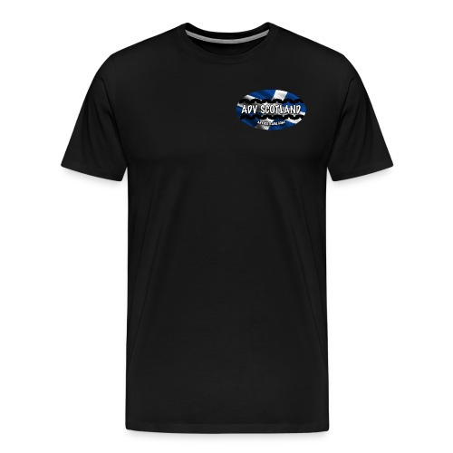 ADV HQ T Shirt Plain Back  - Men's Premium T-Shirt