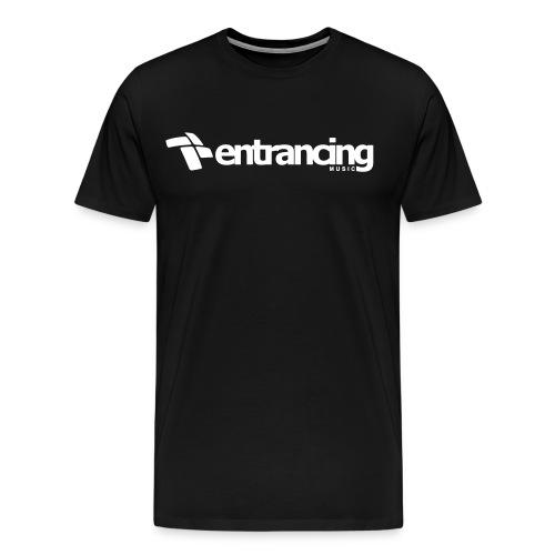 Shirt white logo - Männer Premium T-Shirt