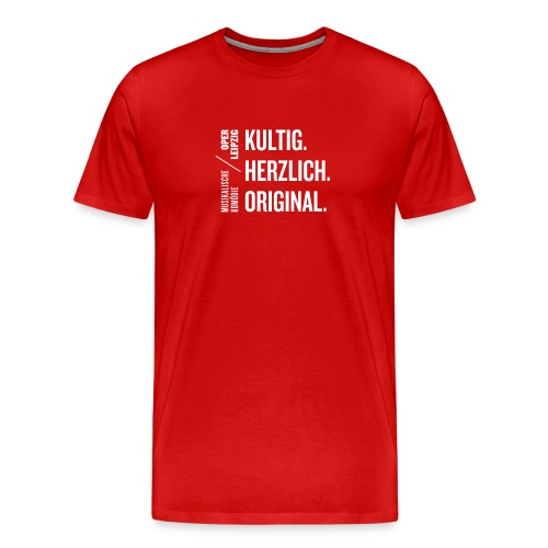 T-Shirt »Musikalische Komödie« - Männer Premium T-Shirt