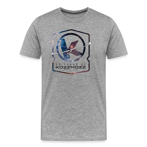 20 Years of Kozzmozz - Men's Premium T-Shirt