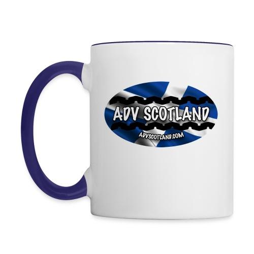 ADV MUG OVAL LOGO - Contrasting Mug