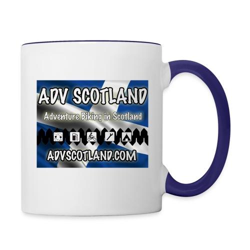 ADV MUG SquareLOGO - Contrasting Mug