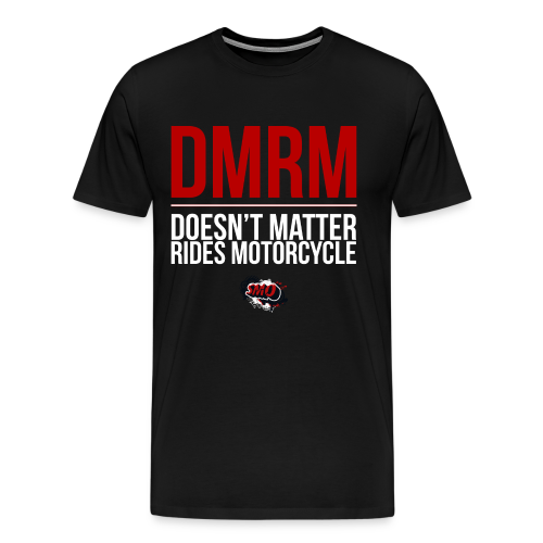 DMRM Full White - Men's Premium T-Shirt