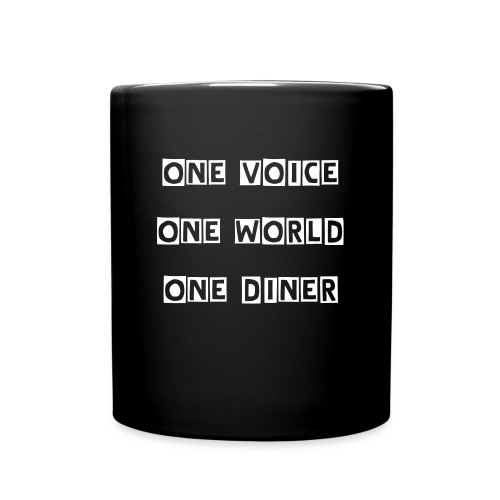 Kaffeebecher - One Voice - Tasse einfarbig
