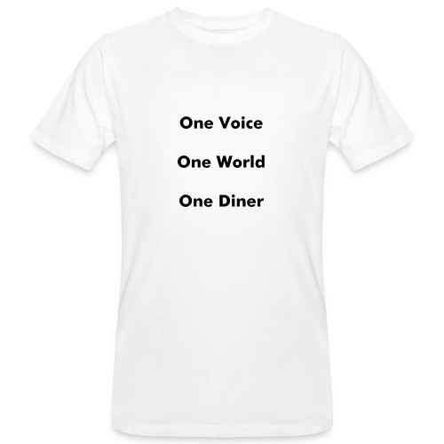 T-Shirt - One World - Männer Bio-T-Shirt