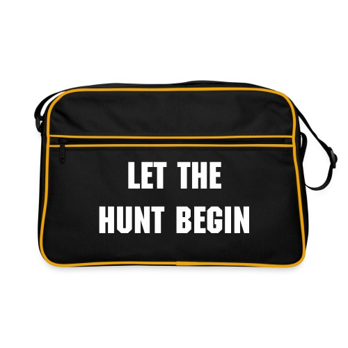 Let The Hunt Begin Bag - Retro Bag