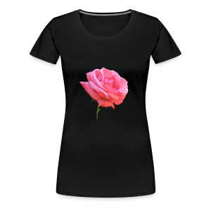 TIAN GREEN Shirt Women - Rose - Frauen Premium T-Shirt