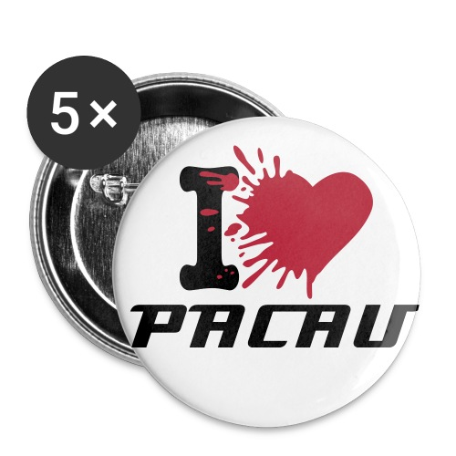 Pacau Pin Badge - Buttons small 25 mm