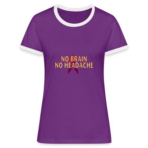 Bi-coloured t-shirt for women - Women's Ringer T-Shirt