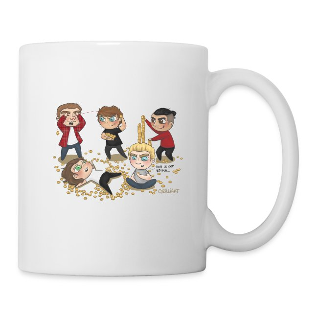 Cyrilliart's OT5 Loose Change Mug
