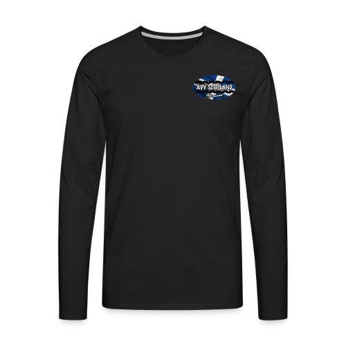 Long Sheeve NO writing on back  - Men's Premium Longsleeve Shirt