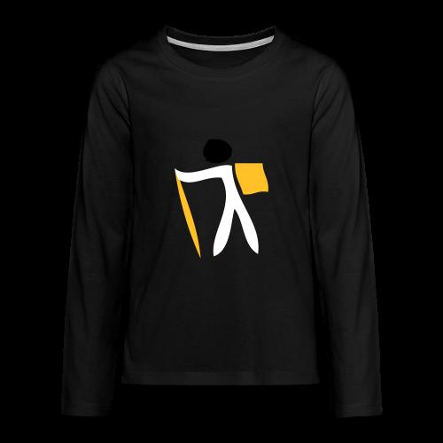 TIAN GREEN Long Shirt Teen - Traveler on tour - Teenager Premium Langarmshirt