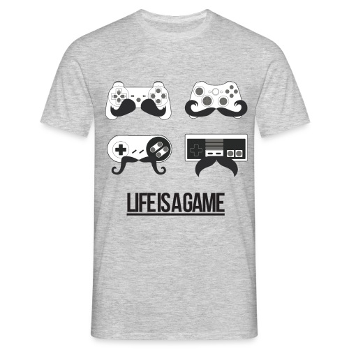 Life Is a Game - Männer T-Shirt