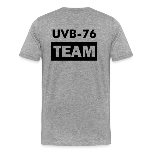 UVB-76 Team - official T-SHIRT - Maglietta Premium da uomo
