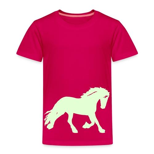 Kids' Premium T-Shirt - Glow In The Dark trykk